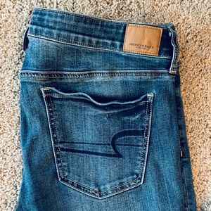 American Eagle size 14 x tall stretch Jeggings